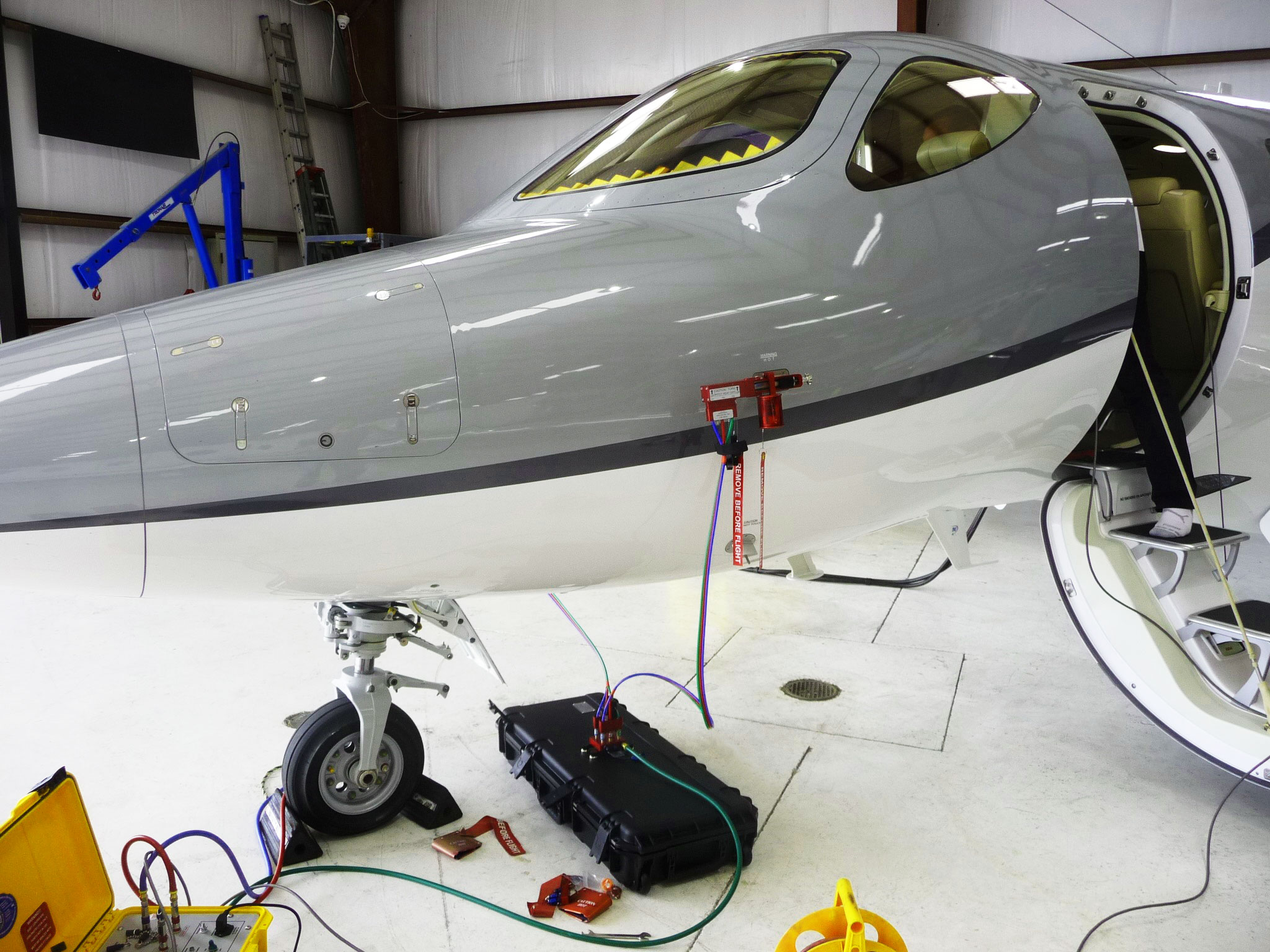 HondaJet KT1113 attached